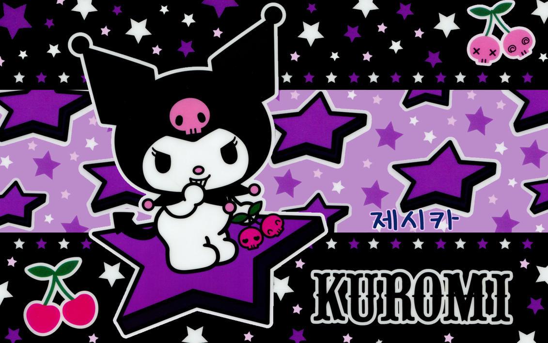 Good Wallpaper Hello Kitty Swag - purple_kuromi_by_momocchi  Photograph_69882.jpg