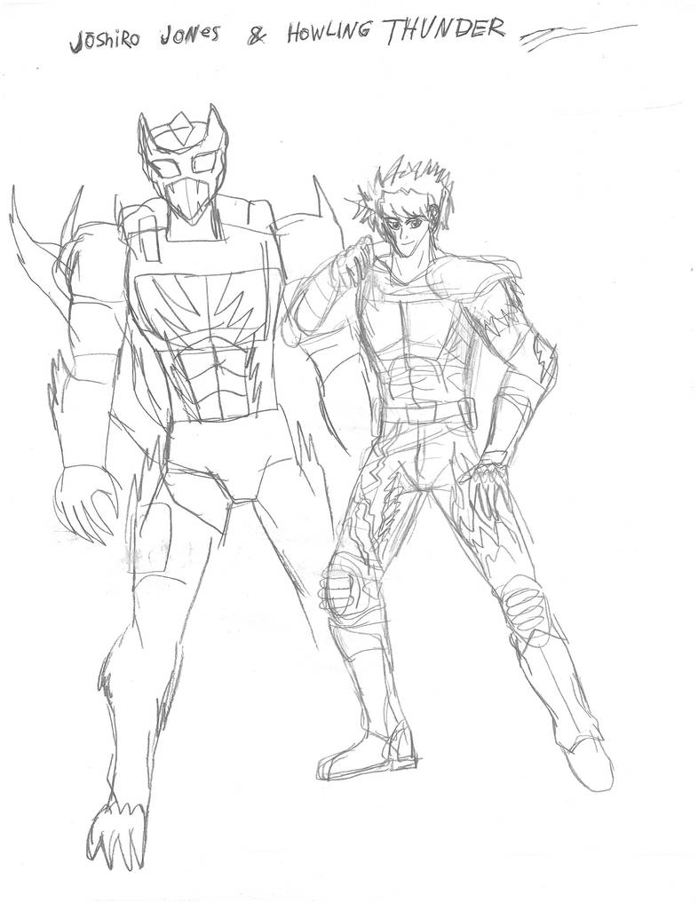 JJBA: Joshiro Jones and Howling Thunder! by WOLWATCHER12 on