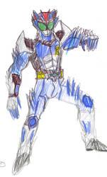 Masked Rider Wolf Spirit - Redesing!
