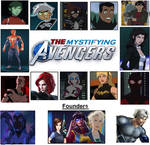 The Mystifying Avengers - Main Roster!