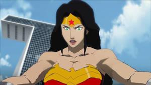 Danny Phantom Shocked To Be In Wonder Woman!