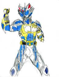 Kamen Rider WHITE-RS - White Rain Mode!