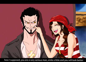 FS - Smile Mihawk! by artJou