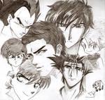 Anime memories by artJou