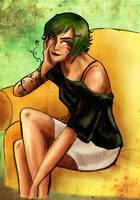 Zahira Aloe one piece OC by artJou