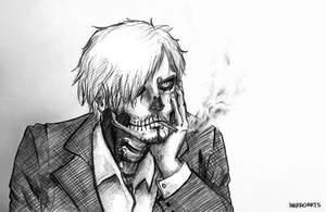 Sanji zombie boy by artJou