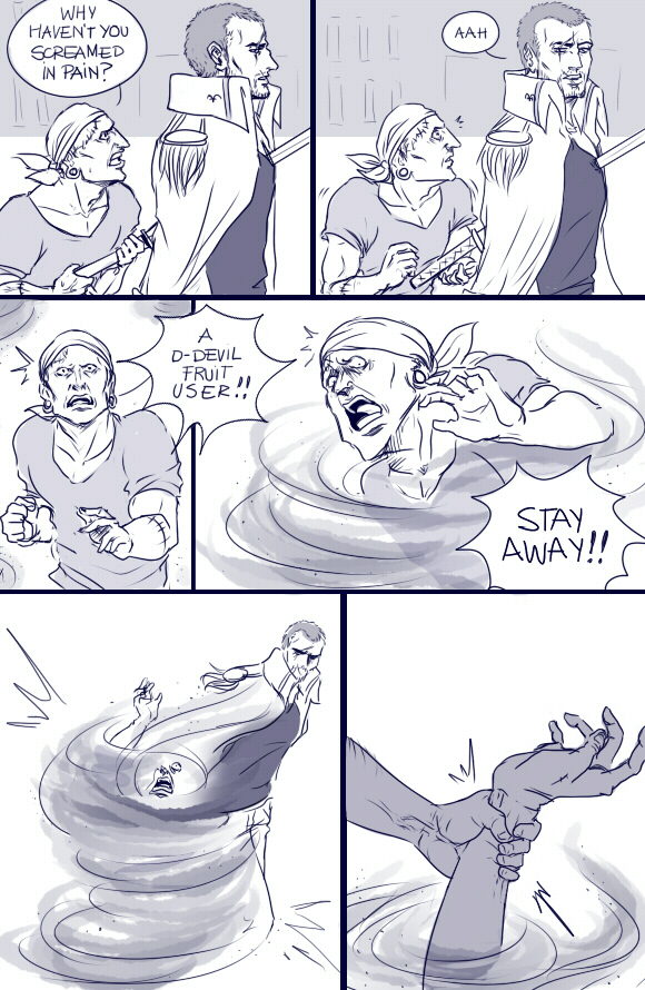 Impel Down's ashes  3/5 by artJou