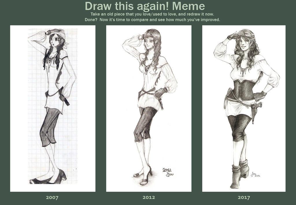 Improvement Meme by artJou