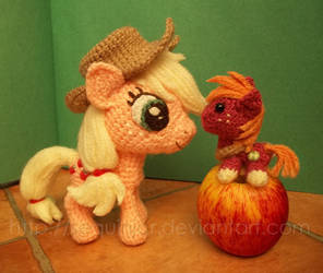 AJ and mini Mac by sequinjar