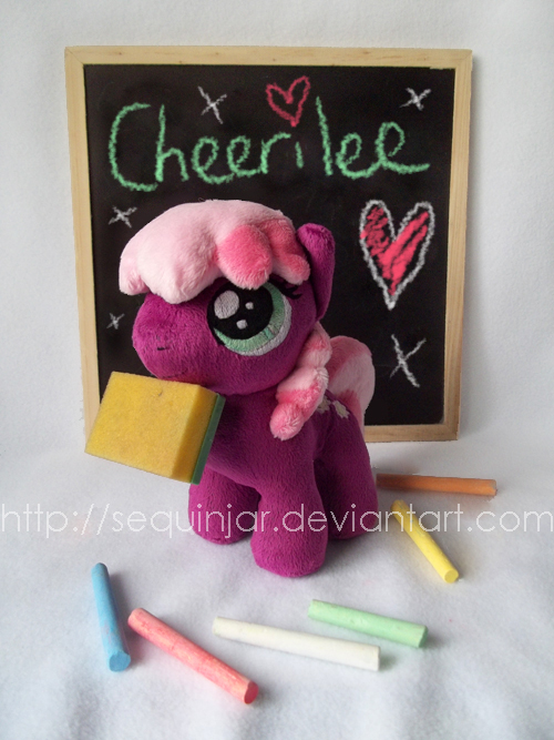 Sweet teacher Cheerilee! by sequinjar