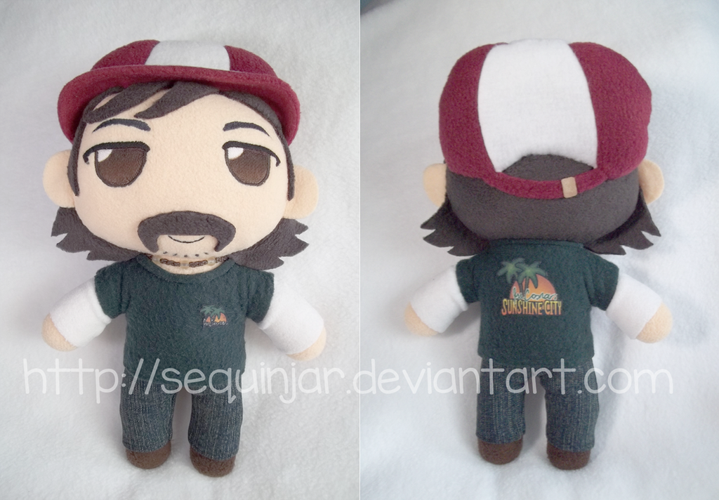 Walking dead Kenny plushie by sequinjar