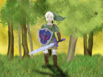 Link, Hero of Light by Minthia