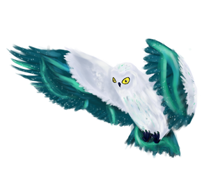 Request: Ice Fakemon Avelanche by Minthia