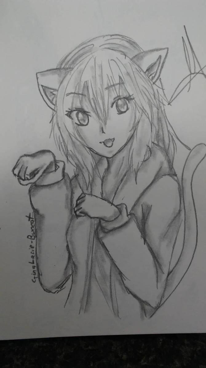 Kitty girl by Lacie-BunCat