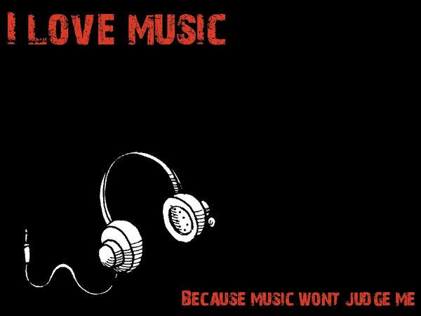 i love music wallpaper hd. I love music wallpaper by