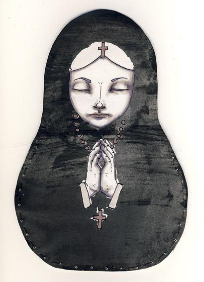 Matryoshka by Myrntai