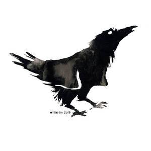 Ink Raven 09