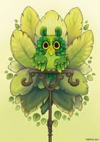 Leafy owl