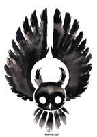 Ink Owl 02 by Myrntai