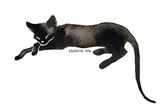 Ink Cat 17
