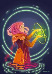 Decker Lady by Myrntai