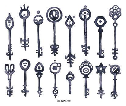 Ink Keys