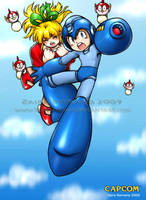 Rockman Classic by Rolly-Chan