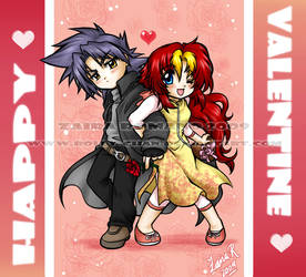 Happy Valentine x3 by Rolly-Chan
