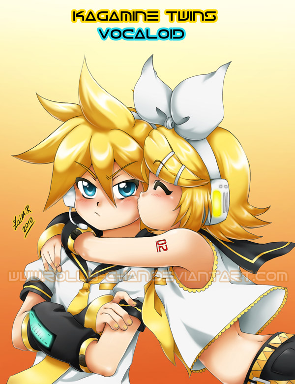 Kagamine Twins by Rolly-Chan
