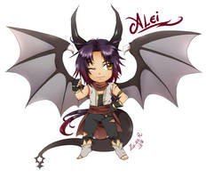 Trade: Chibi Alei by Rolly-Chan