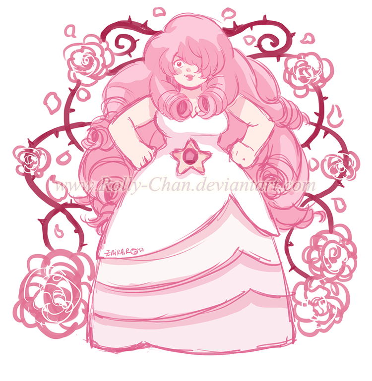 Steven universe rose quartz by rolly chan on deviantart - Rose quartz steven universe wallpaper ...