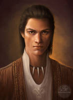 Assassin's Creed 3: Connor Kenway - A Portrait by Celtran