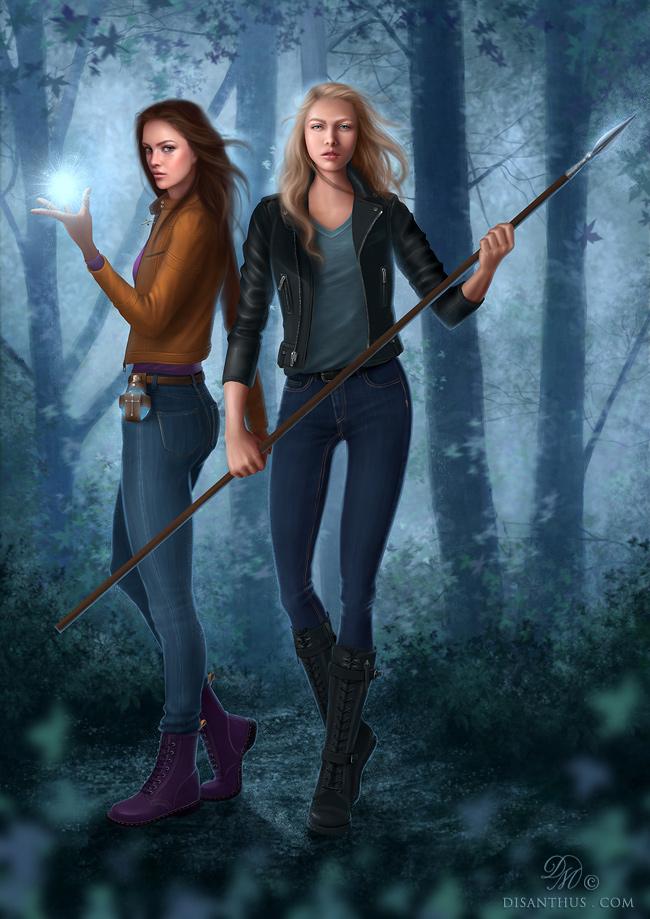 Alanna and Misty by Celtran