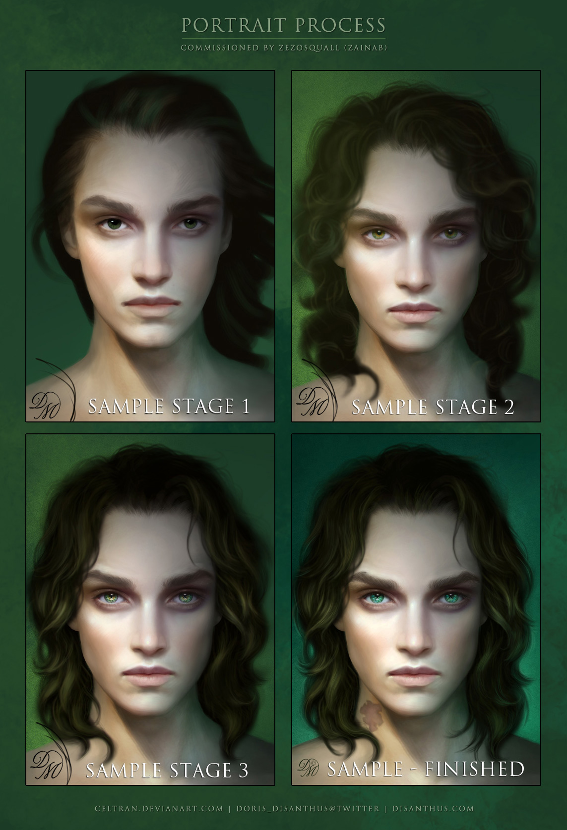 Squall Scardo: Process by Celtran