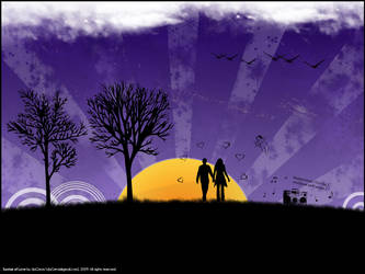 Sunrise of Love by daGrevis
