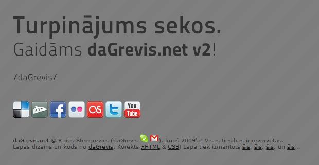 daGrevis.net v1.5 by daGrevis