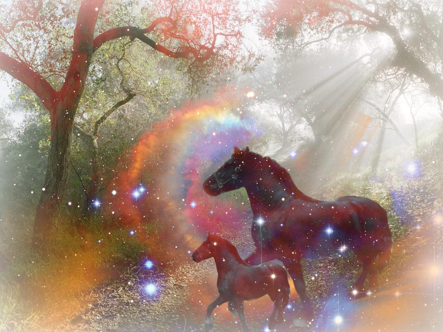 Fantasy horse art by biili on deviantart fantasy horse art by biili voltagebd Images