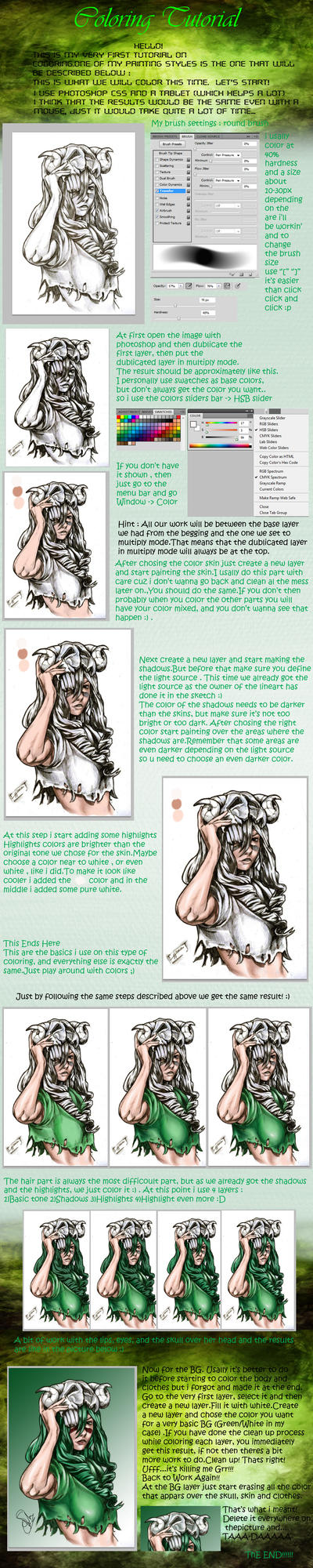 Coloring Tutorial by shadowhunter144