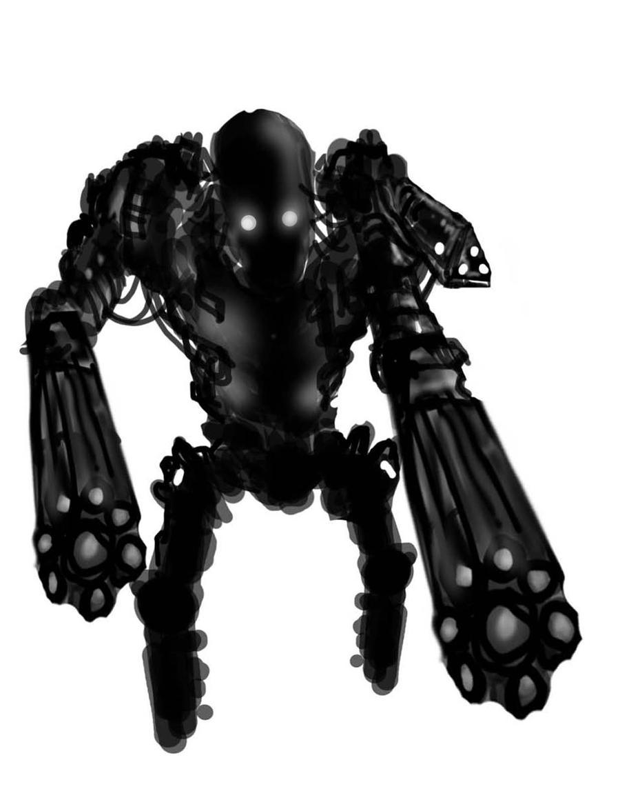 gun bot w.i.p by richard-chin
