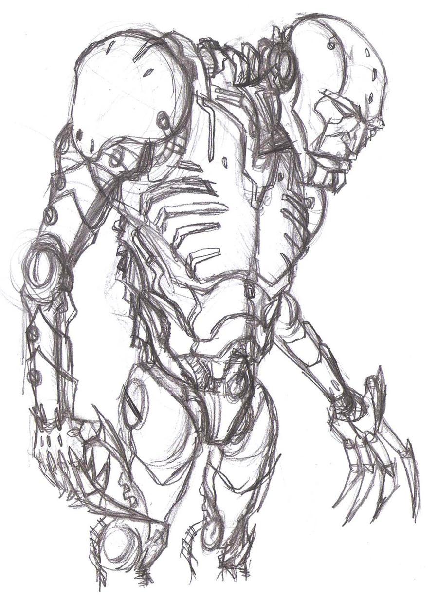 Pencil Drawings Of Rob...