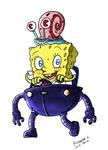 sponge bob robo pants