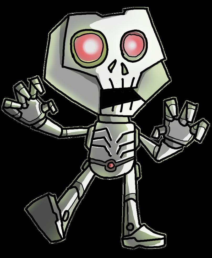 zombot by puffychin by richard-chin