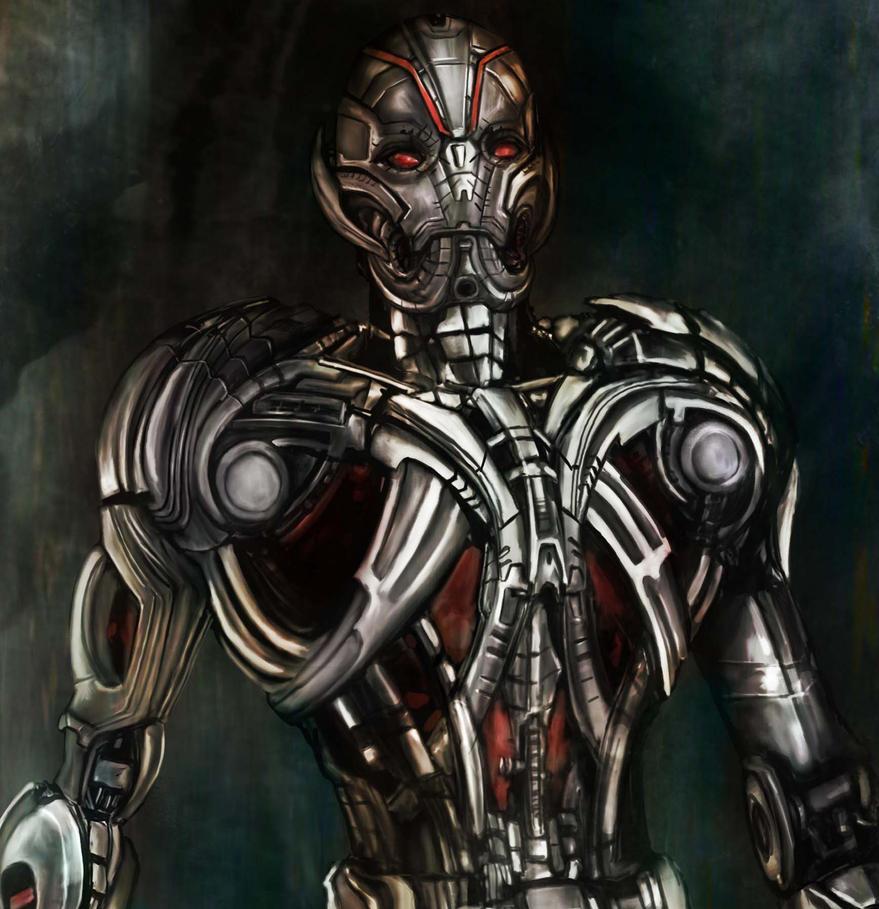 Age Of Ultron Closeup by richard-chin