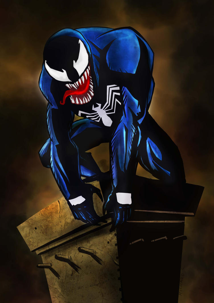 Venom Waiting by richard-chin