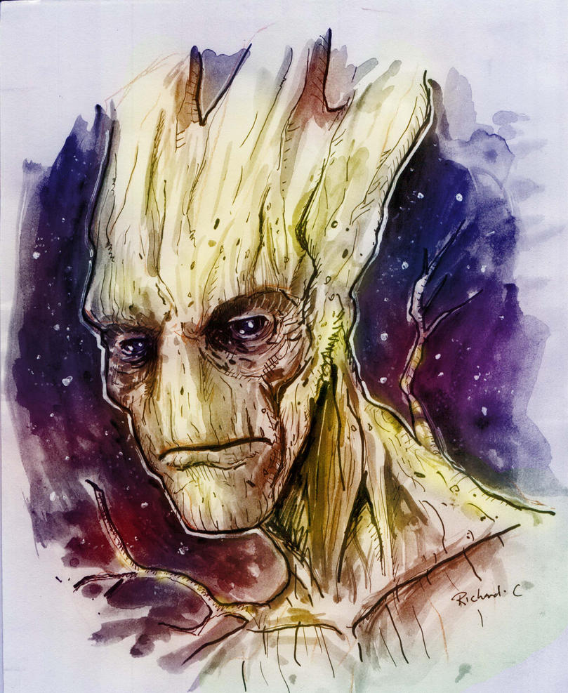 Groot Render by richard-chin