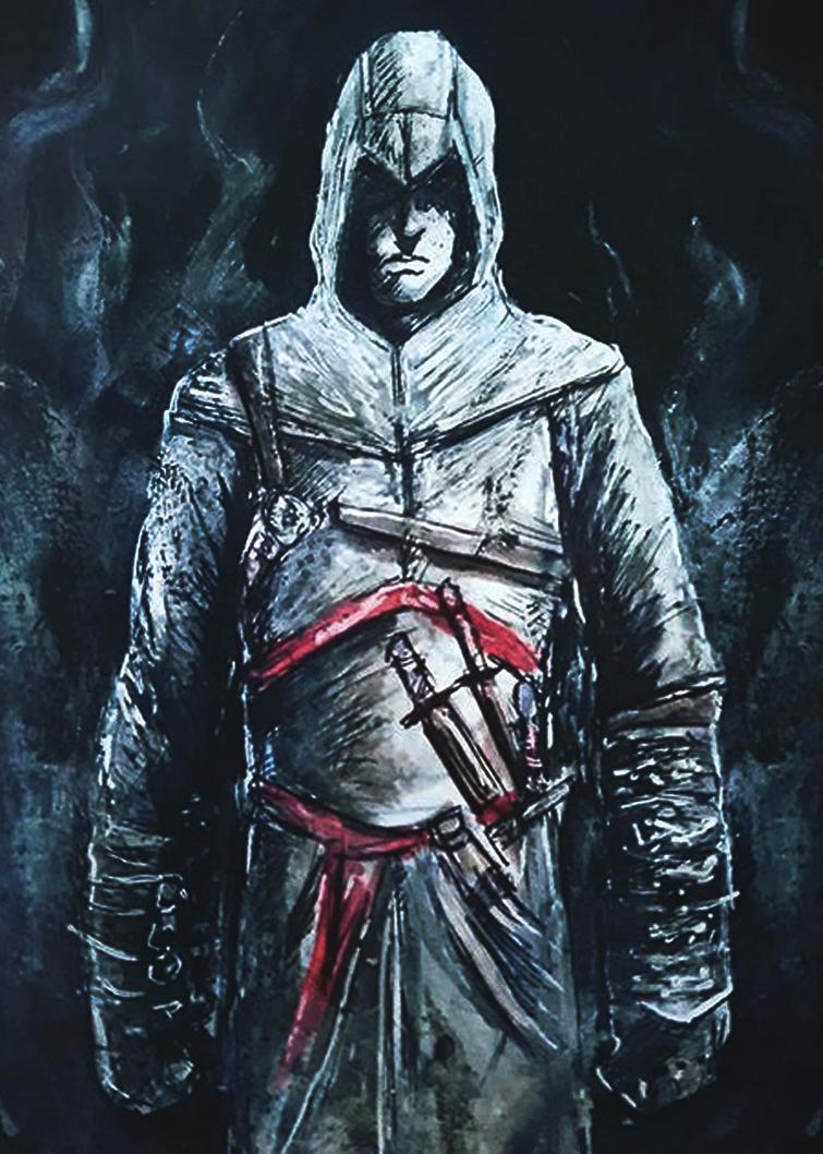Assassins Creed v1 by richard-chin