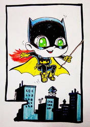Batgirl by richard-chin