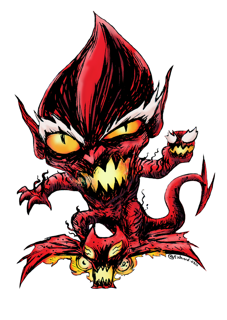 Red Gobline Done by richard-chin