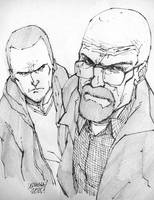 BREAKING BAD sketch.