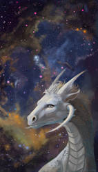 Star dragon by Pihguinolog